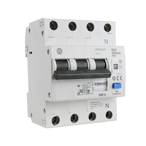 AEG kracht-aardlekautomaat 3P+N 16A B-karakteristiek 300mA