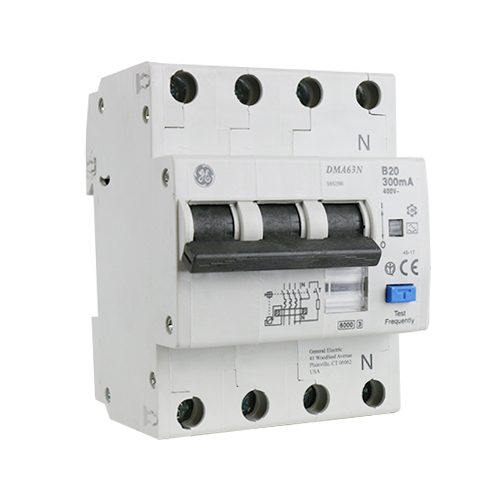 AEG kracht-aardlekautomaat 3P+N 20A B-karakteristiek 300mA
