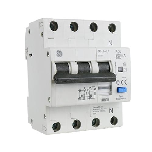 AEG kracht-aardlekautomaat 3P+N 25A B-karakteristiek 300mA