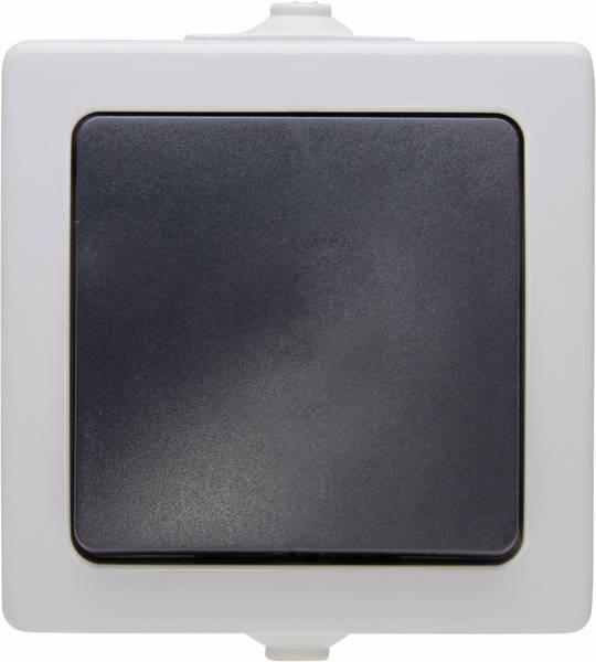 Kopp NAUTIC kruisschakelaar IP44 - grijs (565756004)