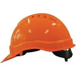 M-Safe Veiligheidshelm MH6000 PE met schuifinstelling oranje