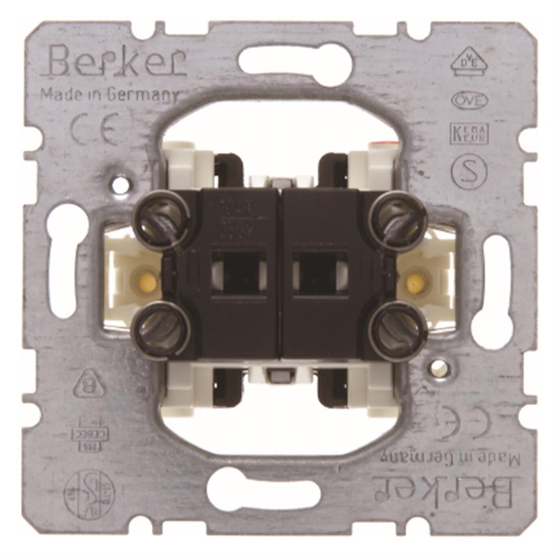Hager Berker inbouw serieschakelaar (613035)