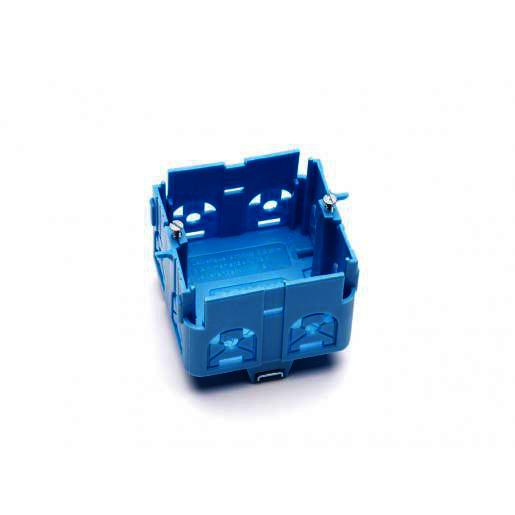 OBO signo inbouwdoos blauw