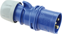 Kopp CEE-stekker IP 44, 3-polig, 230 V, 6 h, 16A