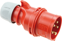 Kopp CEE-stekker IP 44, 5-polig, 400 V, 6 h, 32A