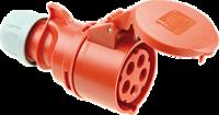 Kopp CEE-contrastekker IP 44, 5-polig, 400 V, 6 h, 32A 632.256