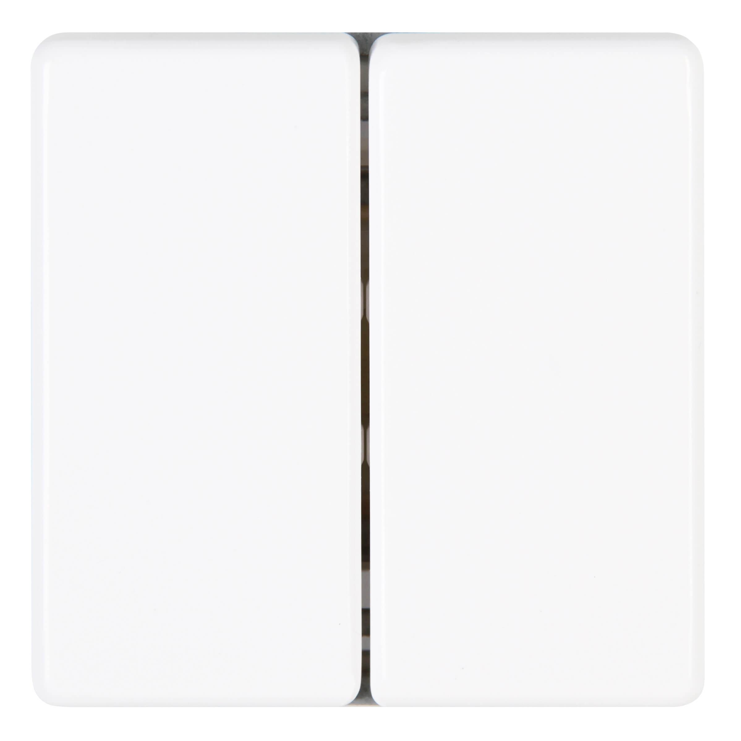 Kopp VISION serieschakelaar arctic wit