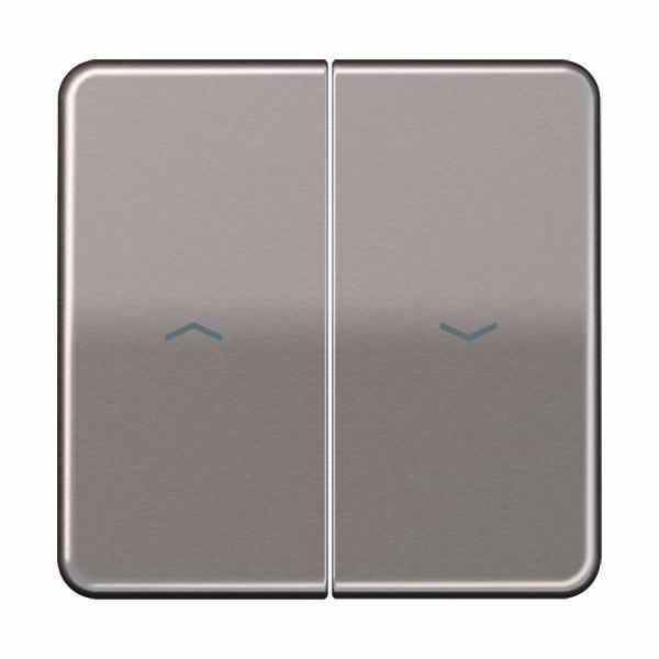 Jung (Hateha) schakelwip met pijlsymbolen - CD500 goud (CD595PGB)