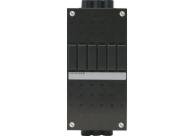 ABB HAF installatiekast leeg met 70 mm sleuf 1-rij 6 modules 110x220 mm