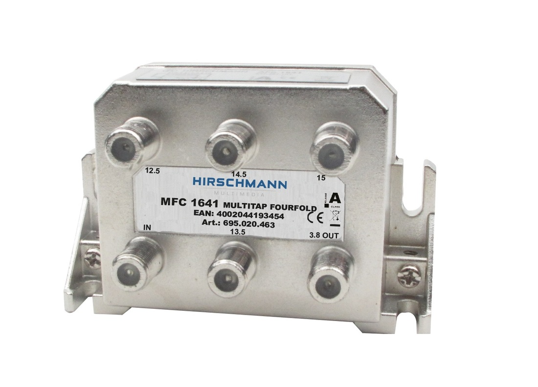 Hirschmann Multimedia MFC1641 multitap 4-voudig