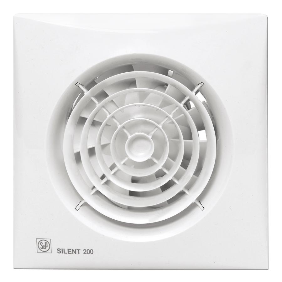 Soler & Palau badkamerventilator inbouw 119 mm IP45 - wit (5210426200)