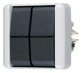 JUNG serie-wipschakelaar opbouw slagvast (805E)