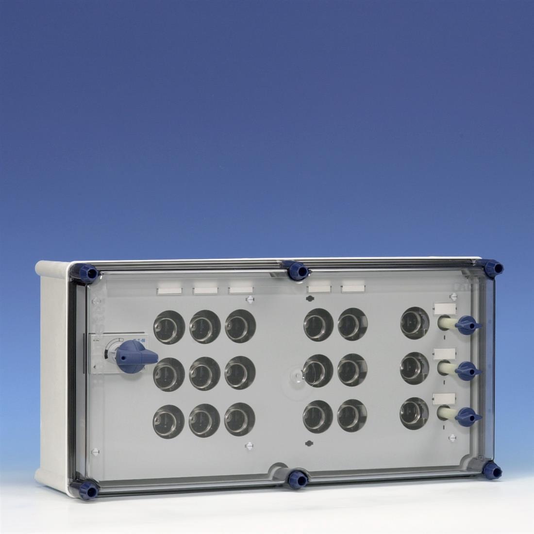Eaton Holec Halyester krachtgroepenkast GLKS4035 63A/3X25A