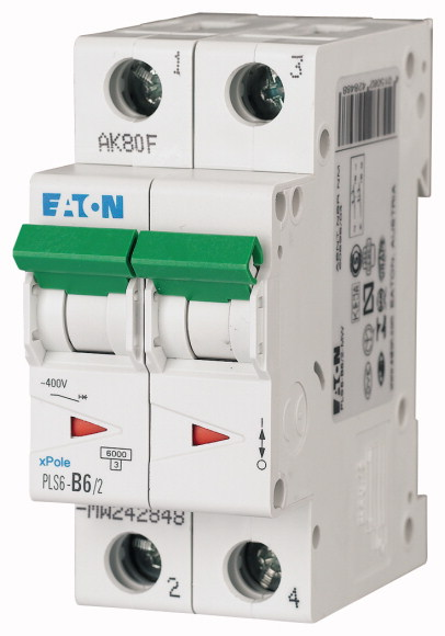 Eaton PLS6-B6/2-MW EAT INST.AUT.2P.B-KAR.6A
