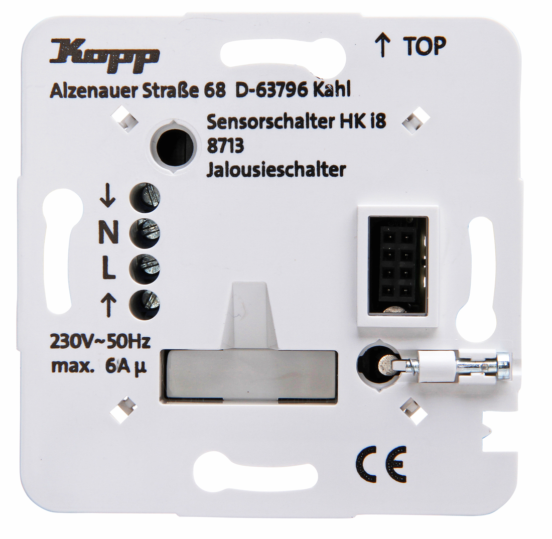 Kopp HKi8 techniek jaloezieschakelaar max 6 a