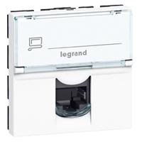 Legrand 076554 LEG MOSAIC 1XRJ45 UTP CAT5E 2M