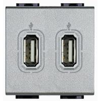 BTicino BTNT4285C2 BTI LIVINGLIGHT TECH USB