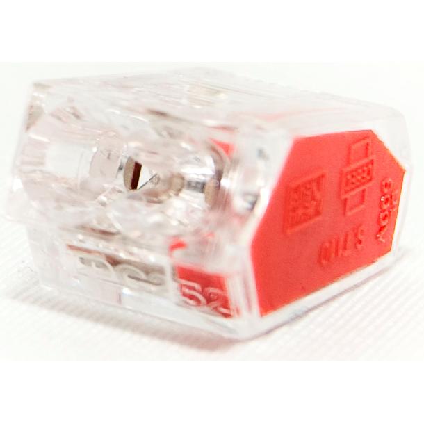 Conex mini lasklem 2-voudig 1-2,5 mm² per 50 stuks (CH 5002)