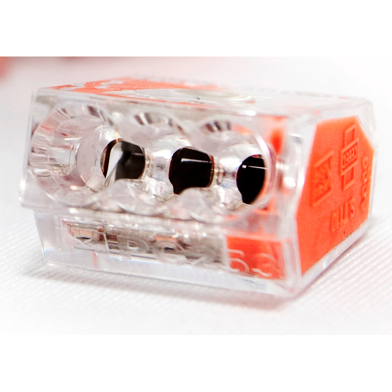 Conex mini lasklem 3-voudig 1-2,5 mm² per 50 stuks (CH 2003)