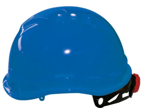 M-Safe veiligheidshelm MH6030 PE met draaiknop en korte klep blauw (6.78.071.00)
