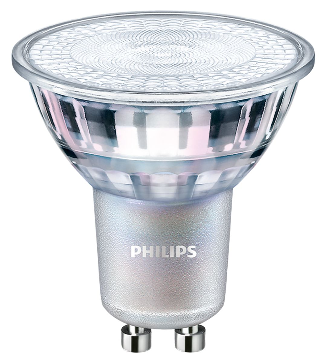 PHILIPS GU10 led lamp dimbaar 4.9W-50W warmwit 2700 kelvin 36gr CRI90
