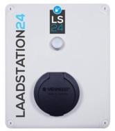 LS24 Laadpaal mode 3, type 2, 32A(22 kW), 3-fase, vaste kabel, incl. KWH meter