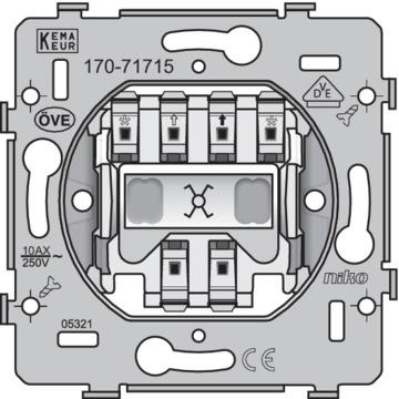 Niko Basiselement - Schakelaar Kruisschakelaar 170-71715