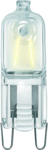 PHILIPS halogeen click 42W 630 lumen G9 (86401400)