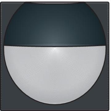 Niko bewegingssensor binnen afwerkingsset - Home Control antraciet (122-55511)