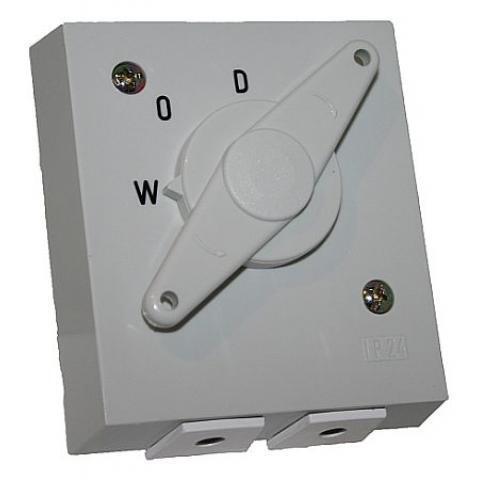 ASN wasmachine combitrekschakelaar 2P 16A 250V inbouw