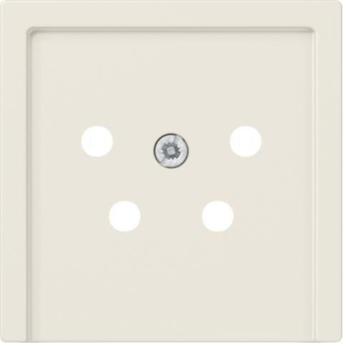 JUNG centraalplaat ptt/telefoon - as500 crème wit (A561NTF)