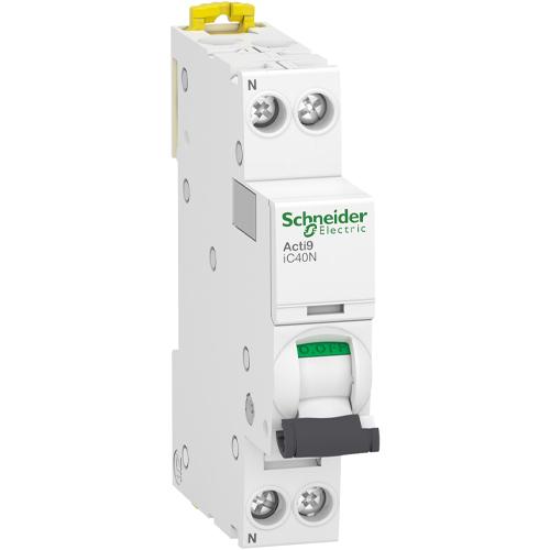 Schneider Electric installatieautomaat 1-polig+nul 25A B-kar (A9P44625)