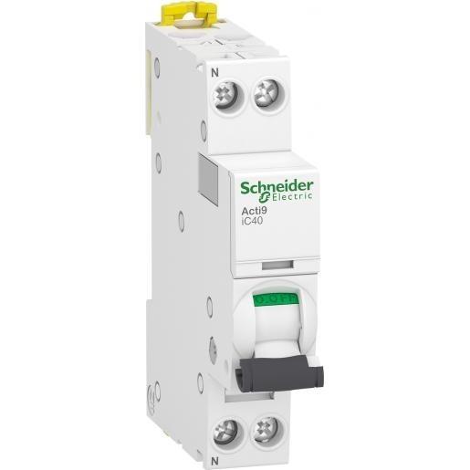 Schneider Electric installatieautomaat 1-polig+nul 16A C-kar (A9P52616)