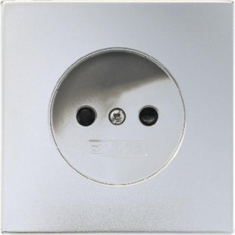 JUNG wandcontactdoos zonder randaarde 16A 250V - LS range aluminium (AL2511N)