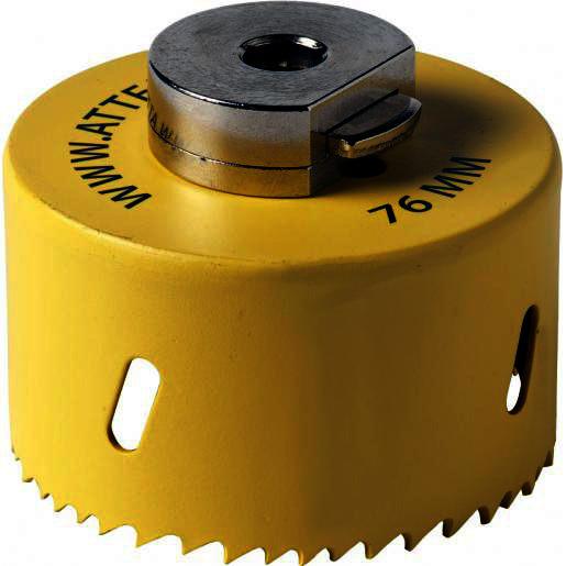 ATTEMA gatzaag 76 mm zonder centerboor (AT2884)