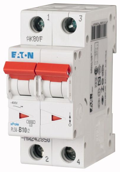 Eaton PLS6-B10/2-MW EAT INSTALLATIEAUTOMAAT PLS6 P