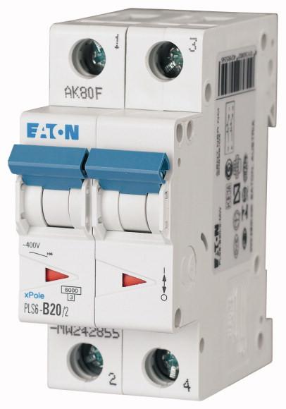 Eaton PLS6-C20/2-MW EAT INST.AUT.2P C20A 6KA