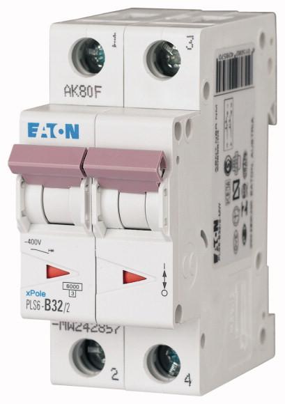 Eaton PLS6-C32/2-MW EAT INST.AUT.2P C32A 6KA