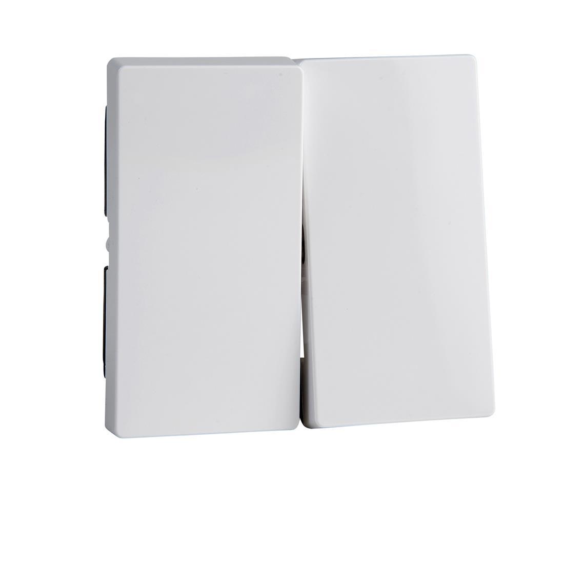 Schneider-Merten systeem M wip voor serieschakelaar - actief wit glanzend (MTN432525)