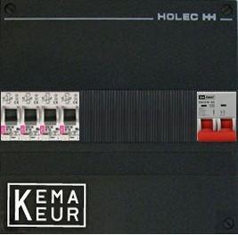 ETI groepenkast 4 aardlekautomaten 220x270 (BxH) 1 Fase (Klein)
