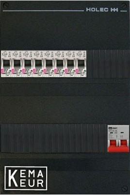 ETI groepenkast 8 aardlekautomaten 220x380 (BxH) 1 Fase