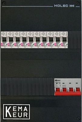 ETI groepenkast 10 aardlekautomaten 220x380 (BxH) 3 Fase