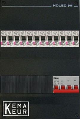 ETI groepenkast 12 aardlekautomaten 220x380 (BxH) 3 Fase