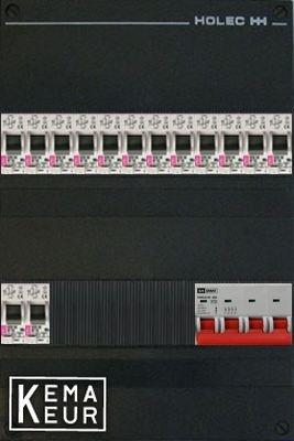 ETI groepenkast 14 aardlekautomaten 220x380 (BxH) 3 Fase