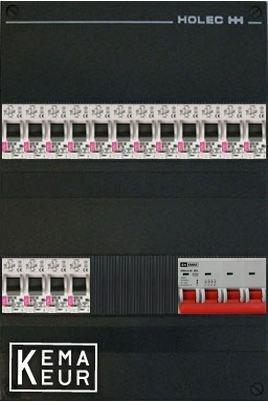 ETI groepenkast 16 aardlekautomaten 220x380 (BxH) 3 Fase