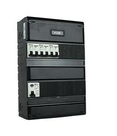 EMAT zekeringkast 1 fase 3 sokkelautomaten 330x220