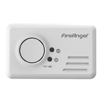 FireAngel koolmonoxidemelder 2x1,5V CO-9B-BNLT