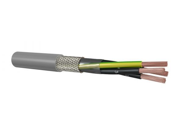 Cable Partners signaalkabel afgeschermd YSLCY-JZ 3G1,5mm2 Dca-s2,d0,a3 (CYJZD213033)
