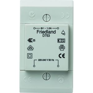 Honeywell Home - Friedland D753 FRIE GONGTR.3-5-8V 1A