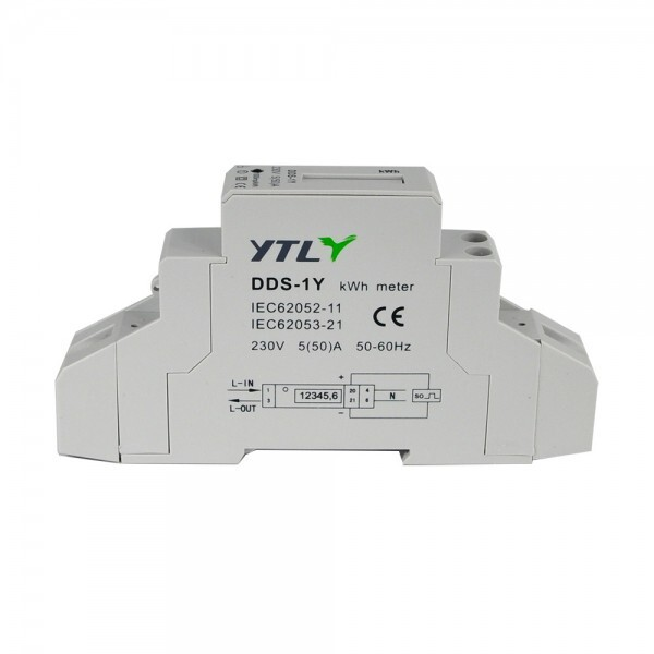 EMAT kWh meter 100A 1-fase modbus MID (5282)